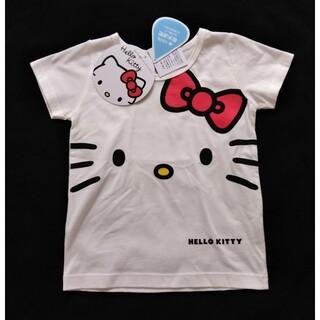 ハローキティ(ハローキティ)の【新品】HELLO KITTY Tシャツ(100)(Tシャツ/カットソー)