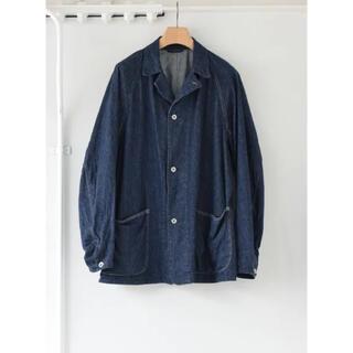 コモリ(COMOLI)のCOMOLI 21AW デニムワークジャケット カバーオール サイズ3 新品(Gジャン/デニムジャケット)
