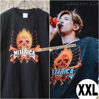 XXL/2018 半袖 revel ロックT-shirt