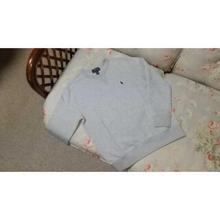 ラルフローレン(Ralph Lauren)の新品☆ラルフローレン トレーナー グレー 140(Tシャツ/カットソー)