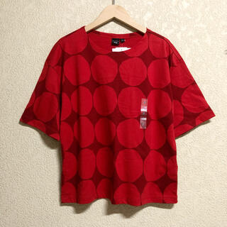 マリメッコ(marimekko)の【新品】marimekko × UNIQLO オーバーサイズ(Tシャツ(半袖/袖なし))