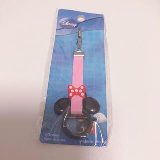 ディズニー(Disney)の新品未使用タグ付き✨ミニーちゃん キーホルダー(キャラクターグッズ)
