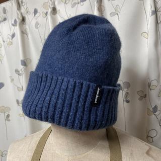 パタゴニア(patagonia)のpatagonia ウール ニット帽(ニット帽/ビーニー)