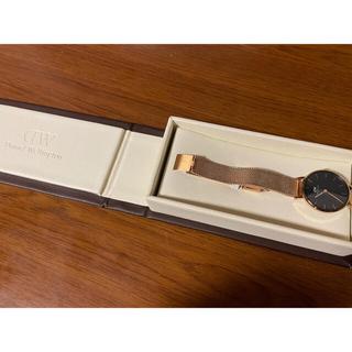 ダニエルウェリントン(Daniel Wellington)のダニエルウェリントン 腕時計 レディース 箱付き 正規品(腕時計)