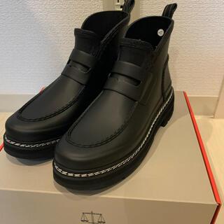 ハンター(HUNTER)のHUNTER リファインドスティッチ ローファーブーツ(レインブーツ/長靴)