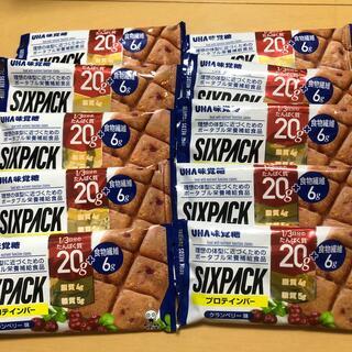 ユーハミカクトウ(UHA味覚糖)のあかね様専用 UHA味覚糖 プロテインバー SIXPACK  クランベリー味(プロテイン)
