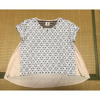 ブージュルード(Bou Jeloud)のレースカットソー  半袖Tシャツ(Tシャツ(半袖/袖なし))
