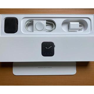 Apple - 【美品】Apple Watch Series5 ステンレススチール 44mm