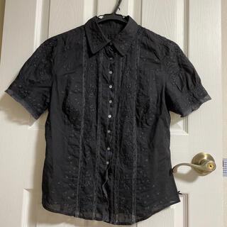 ポールスミス(Paul Smith)のポールスミス ブラック ブラウス(シャツ/ブラウス(半袖/袖なし))