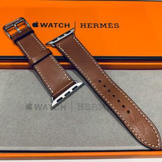 エルメス(Hermes)のApple Watch Hermes 40mm  革ベルトのみ(その他)