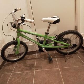 ルイガノ(LOUIS GARNEAU)のルイガノ 16インチ グリーン(自転車)