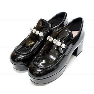 ミュウミュウ(miumiu)のmiumiu♡ローファー(ローファー/革靴)