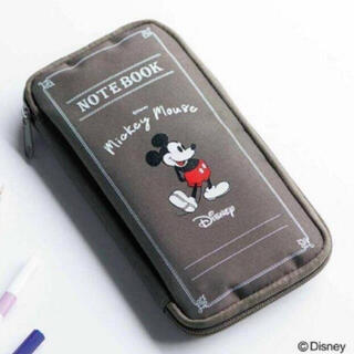 ミッキーマウス(ミッキーマウス)のSPRiNG 10月号【付録】ミッキーマウスデザイン ノート風マルチポーチ(ポーチ)