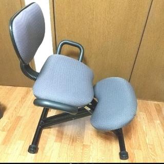 【週末値下げ!】 バランスチェア姿勢矯正 腰痛予防 学習椅子(エクササイズ用品)