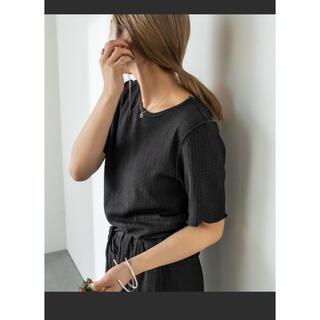 ミスティック(mystic)のカットジャガードメロウTシャツ(Tシャツ(半袖/袖なし))