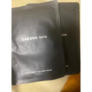 carome 2枚(パック/フェイスマスク)