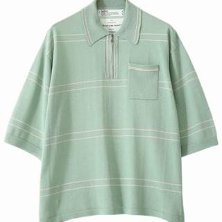サンシー(SUNSEA)のdairiku ニットポロ(ポロシャツ)