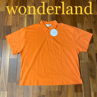 COMOLI - 新品未使用 wonderland ワンダーランド ポロシャツ