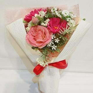 新品 ピンク系 花束!ウェディング!ギフト プレゼント 枯れない花  (その他)