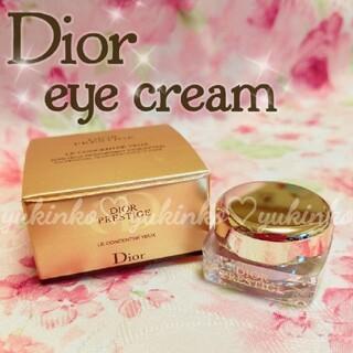 ディオール(Dior)のディオール プレステージ ル コンサントレ ユー アイクリーム(アイケア/アイクリーム)