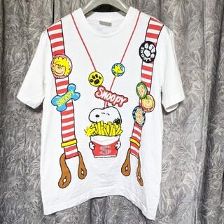 スヌーピー(SNOOPY)のユニバーサルスタジオJAPAN隠れポケット付スヌーピーTシャツ(Tシャツ/カットソー(半袖/袖なし))