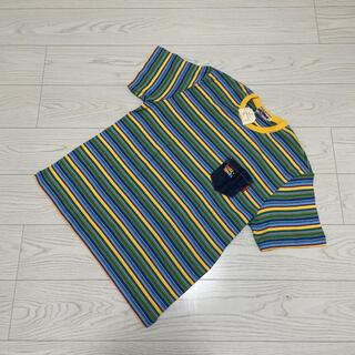 ミキハウス(mikihouse)の【新品 タグ付き】90s ミキハウス ヴィンテージ Tシャツ マルチカラー(Tシャツ/カットソー(半袖/袖なし))