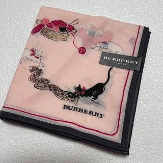 バーバリー(BURBERRY)の⭐️再値下げ⭐️新品⭐️レア⭐️バーバリー ハンカチ(ハンカチ)