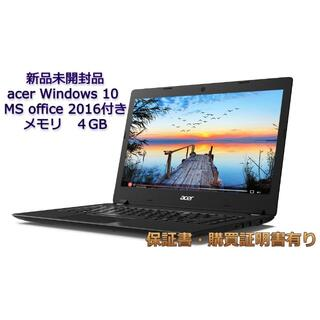 Acer - 【新品未開封】ノートPC A114-32-F14P/F Office 2016有