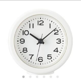 ムジルシリョウヒン(MUJI (無印良品))の無印良品 アナログバスクロック型番:MJ‐BC1(置時計)