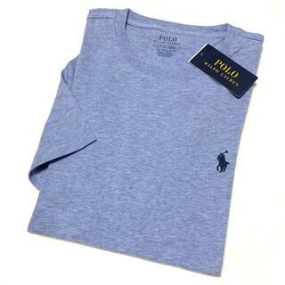 ラルフローレン(Ralph Lauren)のメンズ XS 新品 ポニー コットンTシャツ / ヘザーライトブルー(Tシャツ/カットソー(半袖/袖なし))