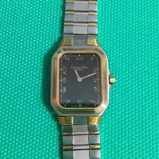 クリスチャンディオール(Christian Dior)のChristian Dior腕時計 【可動品】(腕時計)