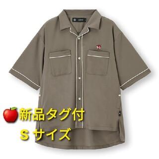 アンダーカバー(UNDERCOVER)の🍎新品タグ付🍎GU×アンダーカバー🍎オープンカラーシャツ(シャツ)