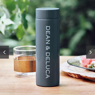 ディーンアンドデルーカ(DEAN & DELUCA)のGLOW 8月号 DEAN&DELUCA ステンレスボトル チャコールグレー(ファッション)