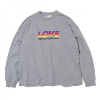 ジョンローレンスサリバン(JOHN LAWRENCE SULLIVAN)のdairiku21ss love ロンt(Tシャツ/カットソー(七分/長袖))