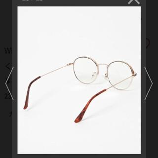 ウィゴー(WEGO)のだて眼鏡(サングラス/メガネ)
