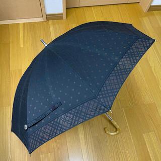 シマムラ(しまむら)の日傘 40cm コットン ドット柄 黒(傘)