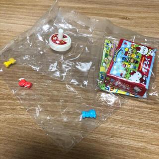 ハローキティ(ハローキティ)のミニチュア キティーちゃん ゲームセット(ミニチュア)