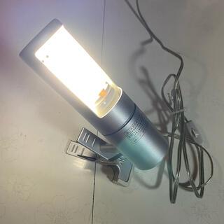 ムジルシリョウヒン(MUJI (無印良品))の無印良品 クリップ型ランプ 卓上ライト 電球 可動式 固定可能 フレキシブル(テーブルスタンド)