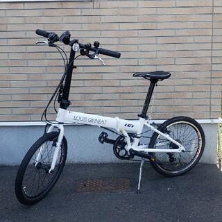ルイガノ(LOUIS GARNEAU)のEASEL6.0 LOUIS GARNEAU 折り畳み自転車(自転車本体)