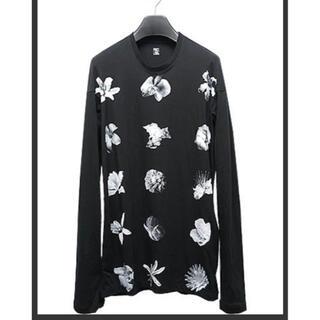 ユリウス(JULIUS)のJULIUSプリントロングカットソー 定価3万(Tシャツ/カットソー(七分/長袖))