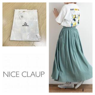 ナイスクラップ(NICE CLAUP)の新品 ナイスクラップ  漫画コマT(Tシャツ(半袖/袖なし))