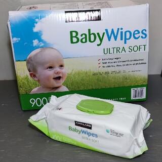 コストコ(コストコ)のカークランドおしりふき「BabyWipes」無香料タイプ(ベビーおしりふき)