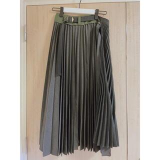 サカイ(sacai)のsacai   サカイ プリーツスカート サイズ1(ロングスカート)