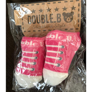 ダブルビー(DOUBLE.B)のダブルビー9-10cmソックス(靴下/タイツ)