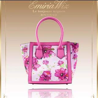 エミリアウィズ(EmiriaWiz)のEmiriaWiz エミリアウィズ バッグ 花柄 ベルフルール ハンドバッグ(ハンドバッグ)