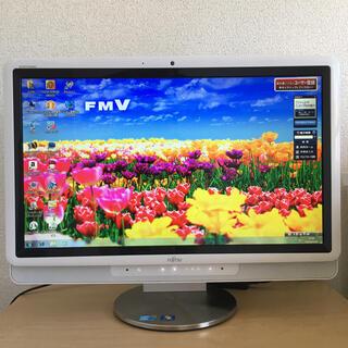 フジツウ(富士通)の富士通 一体型 デスクトップ PC(デスクトップ型PC)