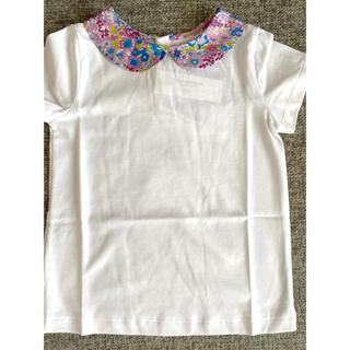 ジャカディ(Jacadi)の定番人気♡jacadi 襟花柄 Tシャツ 6a 116cm(Tシャツ/カットソー)