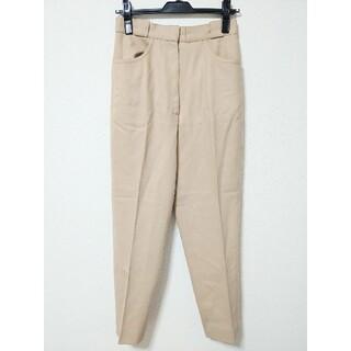 クリスチャンディオール(Christian Dior)のクリスチャンディオール テーパード パンツ センタープレス スラックス(カジュアルパンツ)