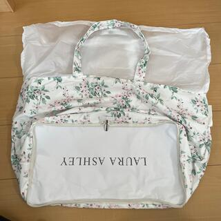 ローラアシュレイ(LAURA ASHLEY)のGLOW5月号 ローラアシュレイ レジかごトートバッグ(ファッション)