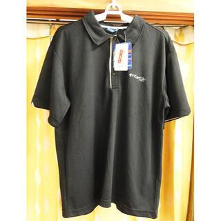 ケイパ(Kaepa)のKaepa  ポロシャツ メンズ  LLサイズ  黒【新品】(ポロシャツ)